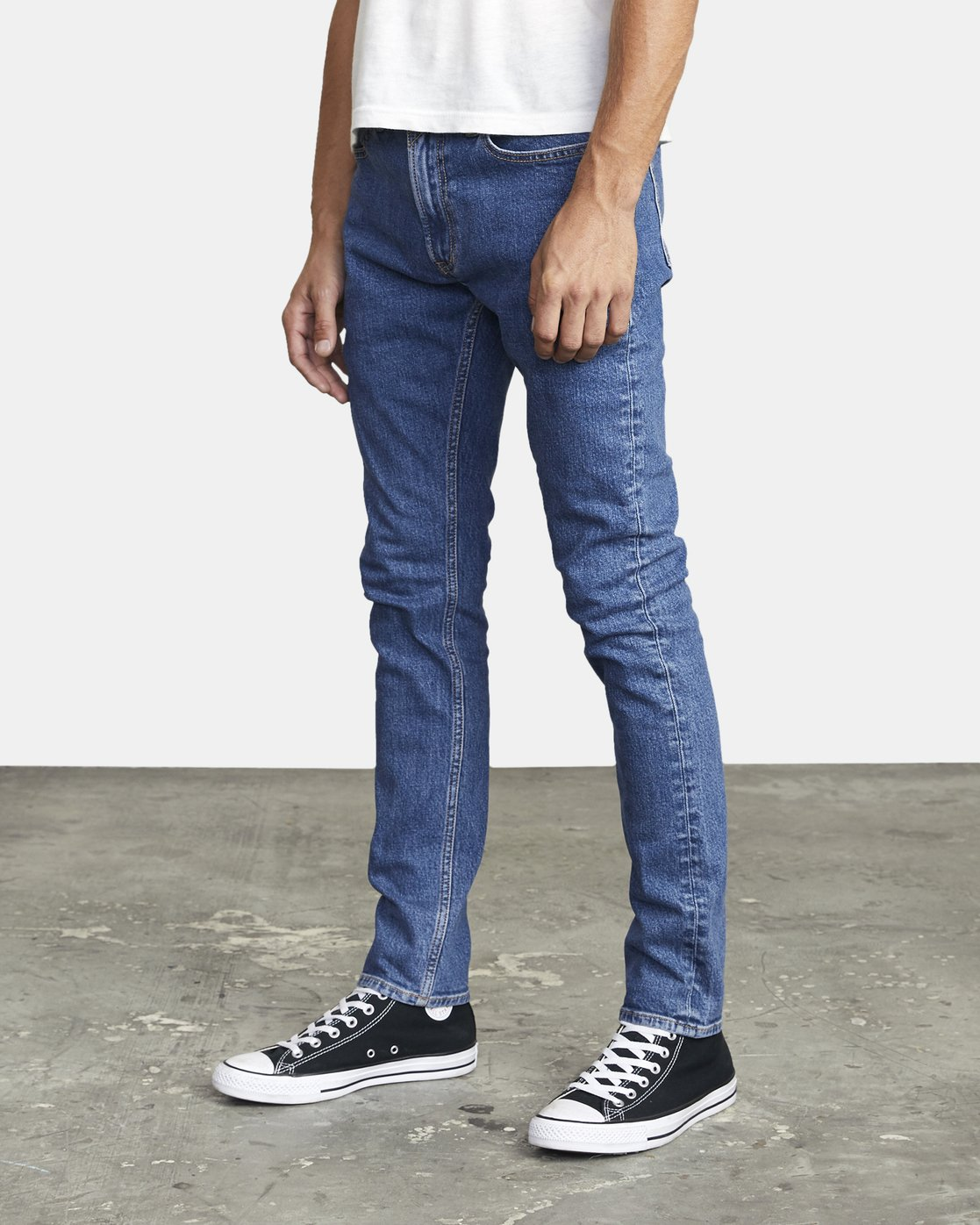 3 ROCKERS SKINNY FIT DENIM Multicolor M3013RRO RVCA