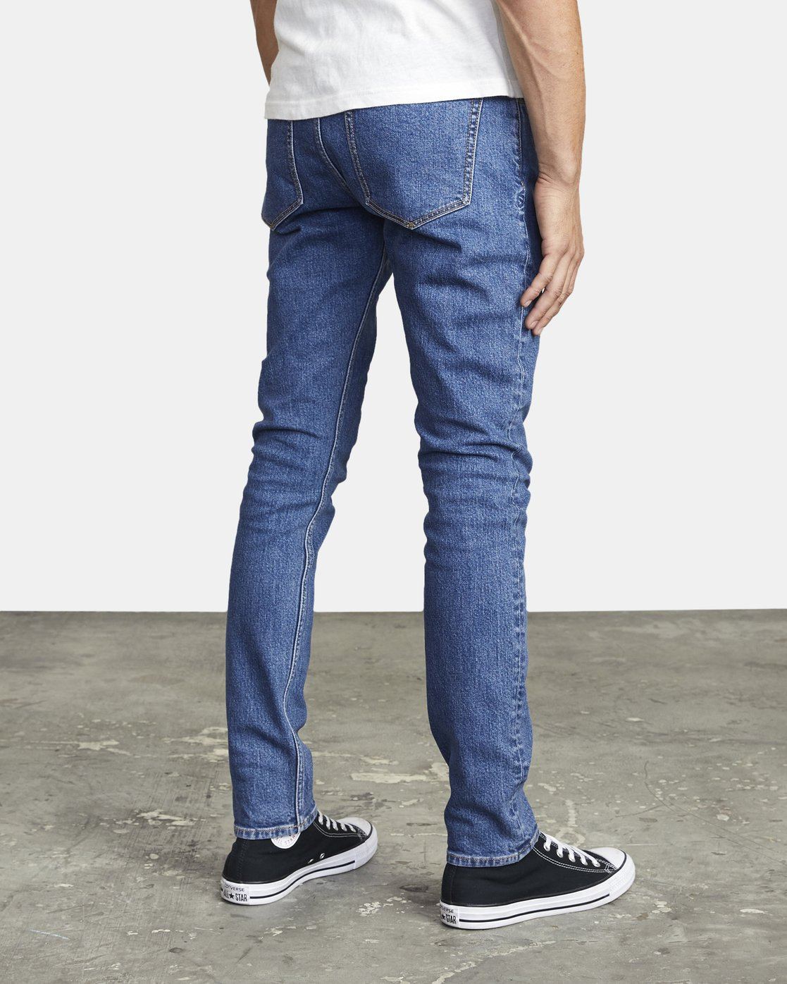 5 ROCKERS SKINNY FIT DENIM Multicolor M3013RRO RVCA