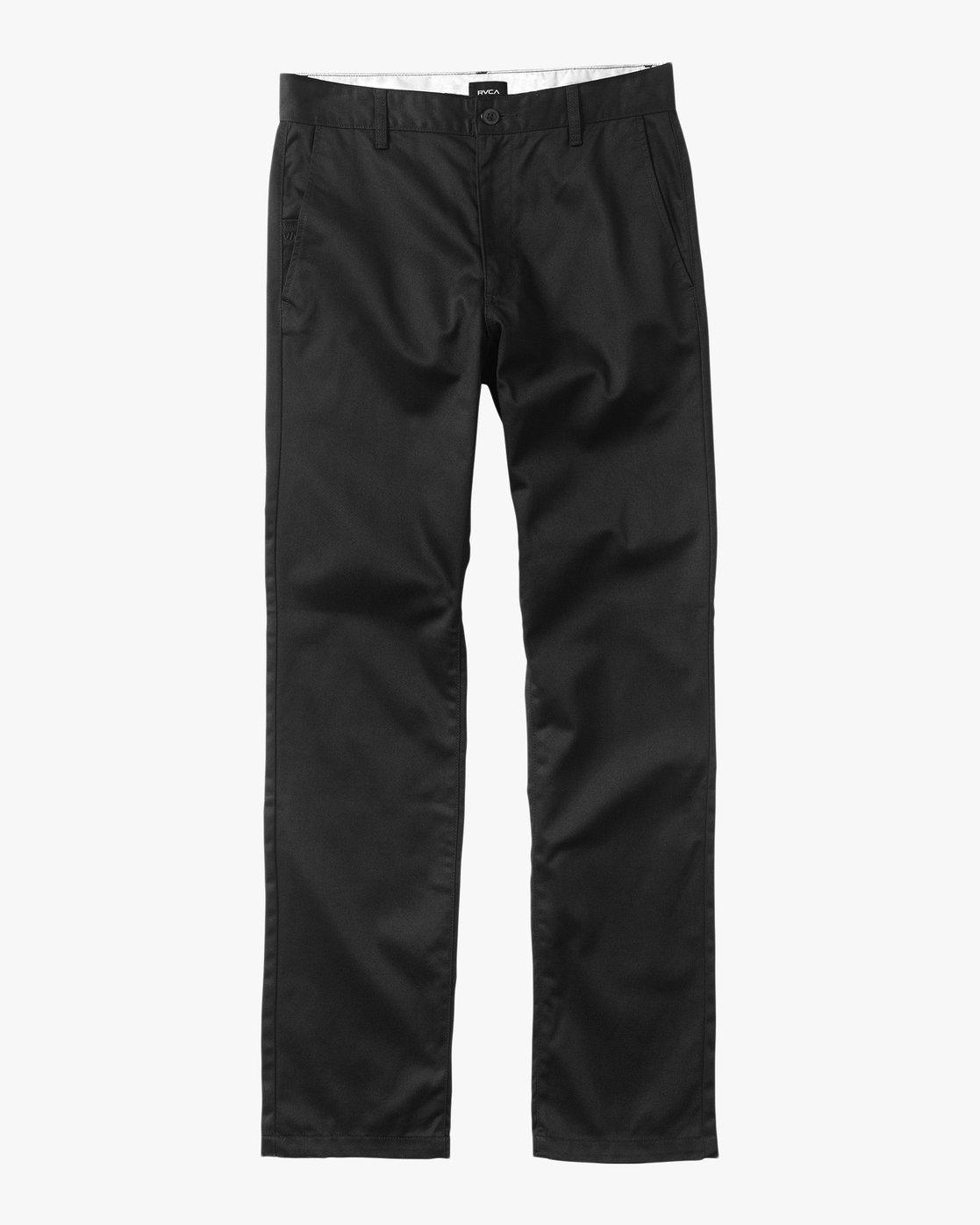 6 Americana Pant Black M301LRAP RVCA