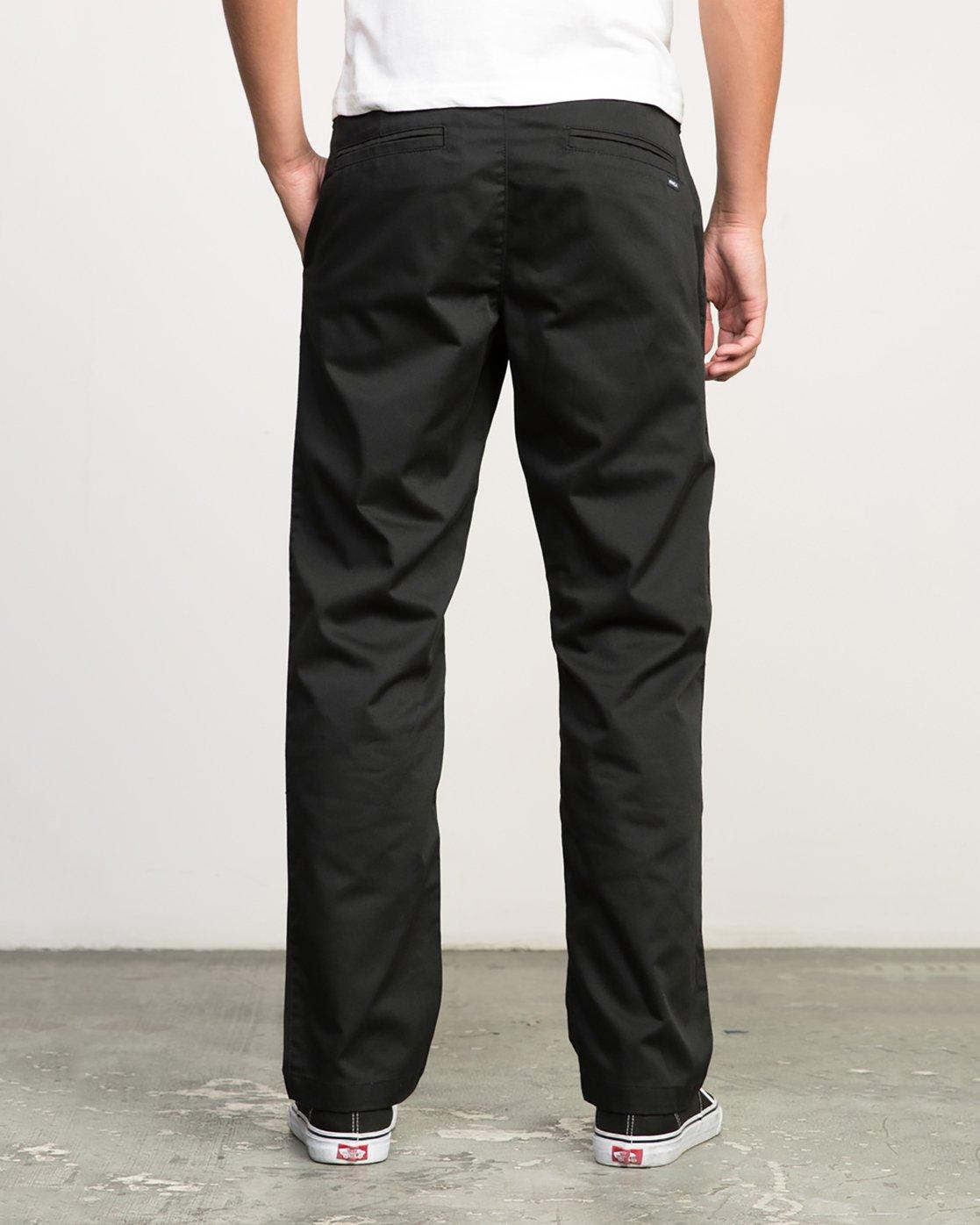 3 Americana Pant Black M301LRAP RVCA