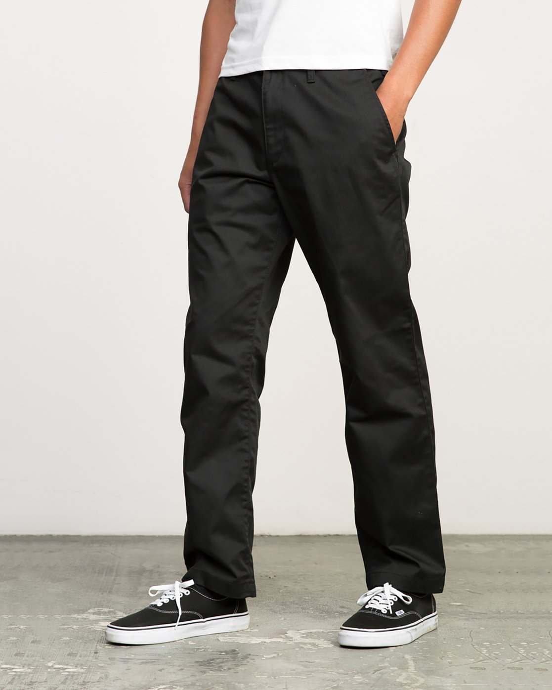 1 Americana Pant Black M301LRAP RVCA