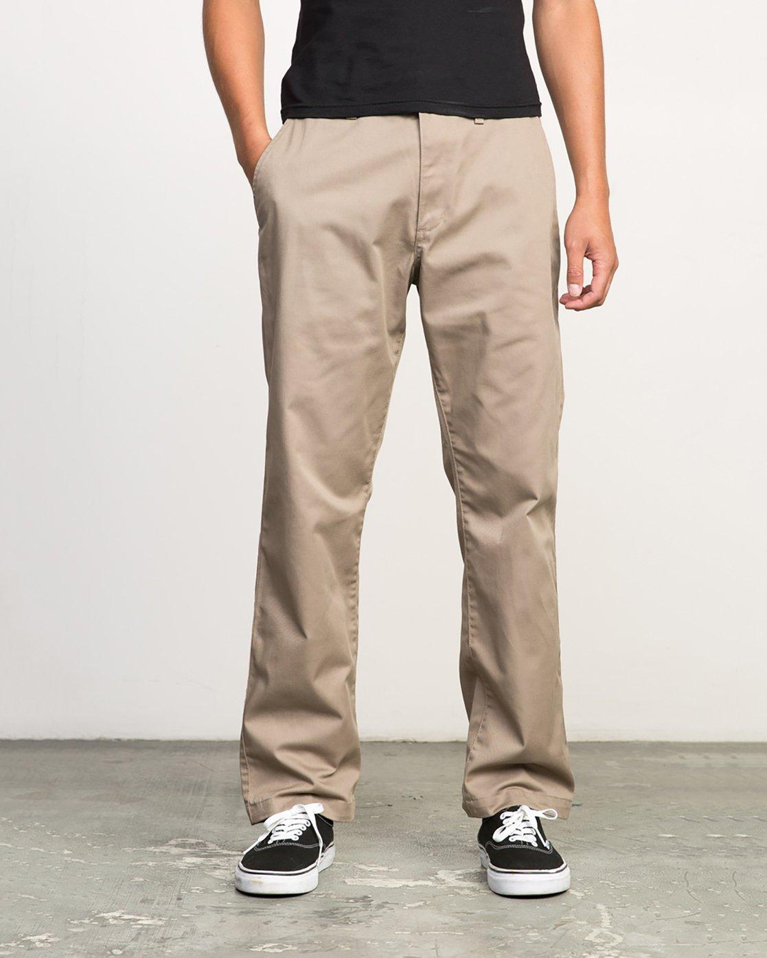 0 Americana Pant Grey M301LRAP RVCA