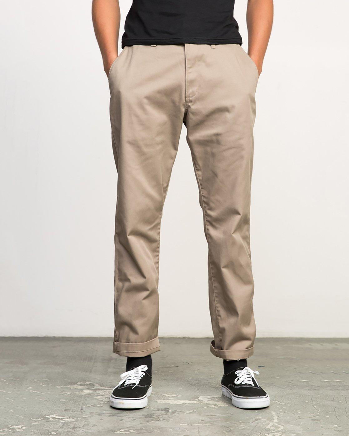1 Americana Pant Grey M301LRAP RVCA