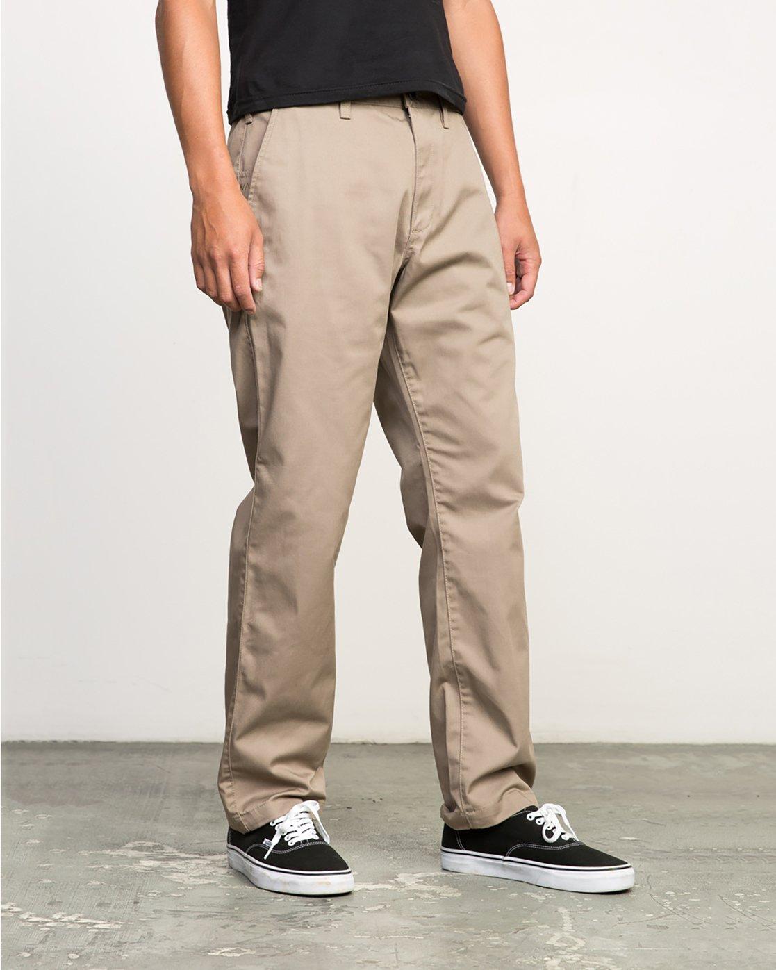 5 Americana Pant Grey M301LRAP RVCA