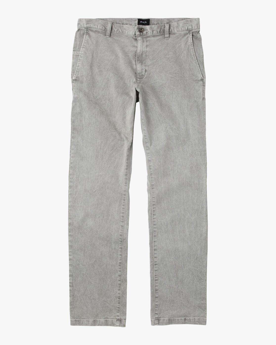 5 Daggers Rinsed Chino Pant Grey M301NRDR RVCA