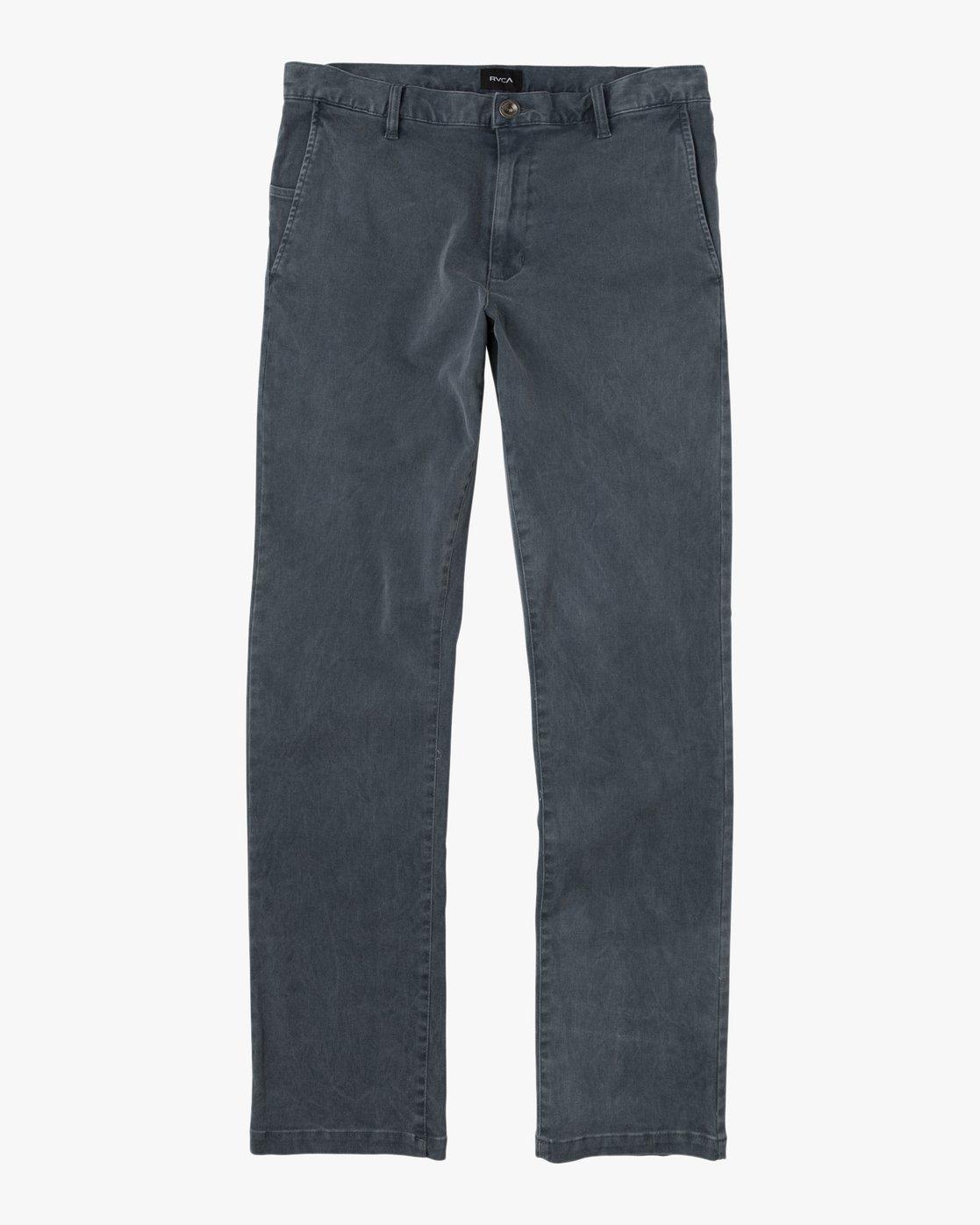 6 Daggers Rinsed Chino Pant Black M301NRDR RVCA