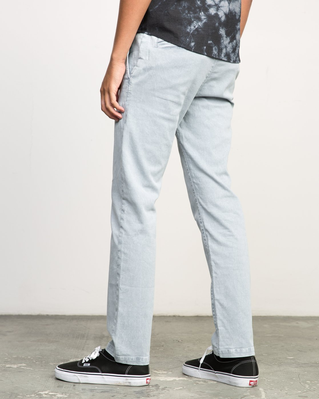1 Daggers Rinsed Chino Pant Blue M301NRDR RVCA
