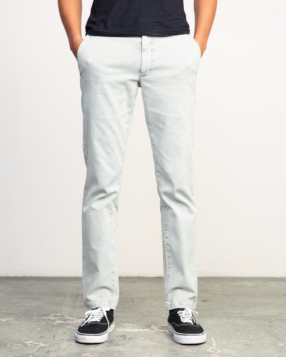 0 Daggers Rinsed Chino Pant Grey M301NRDR RVCA