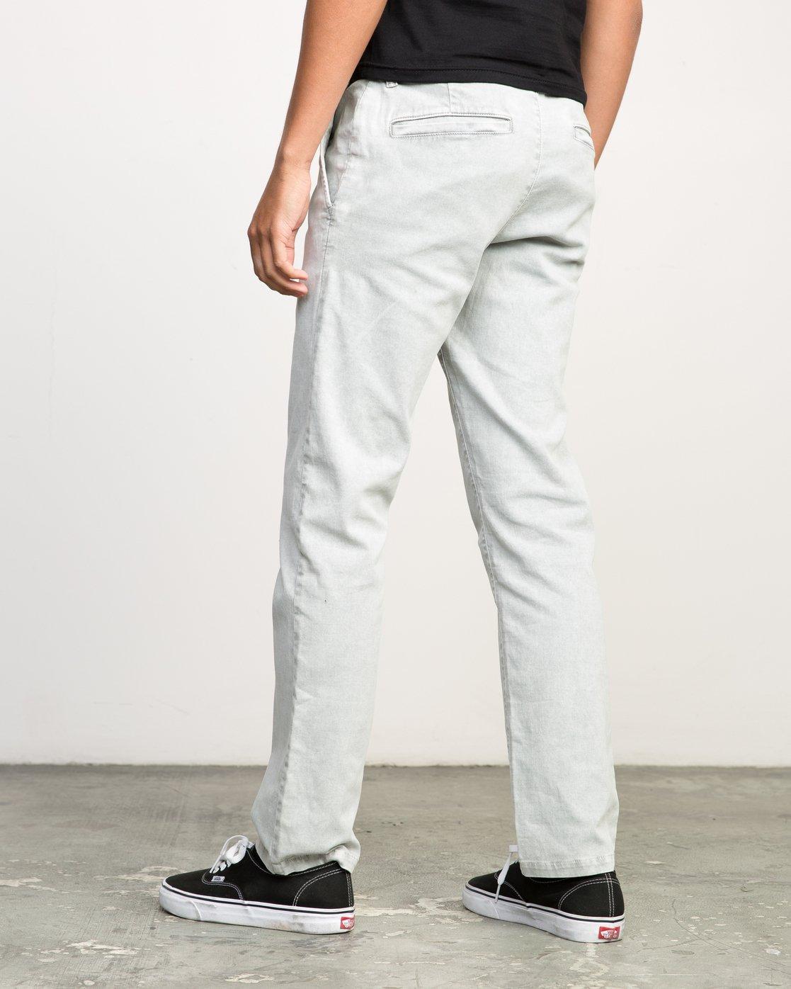 2 Daggers Rinsed Chino Pant Grey M301NRDR RVCA