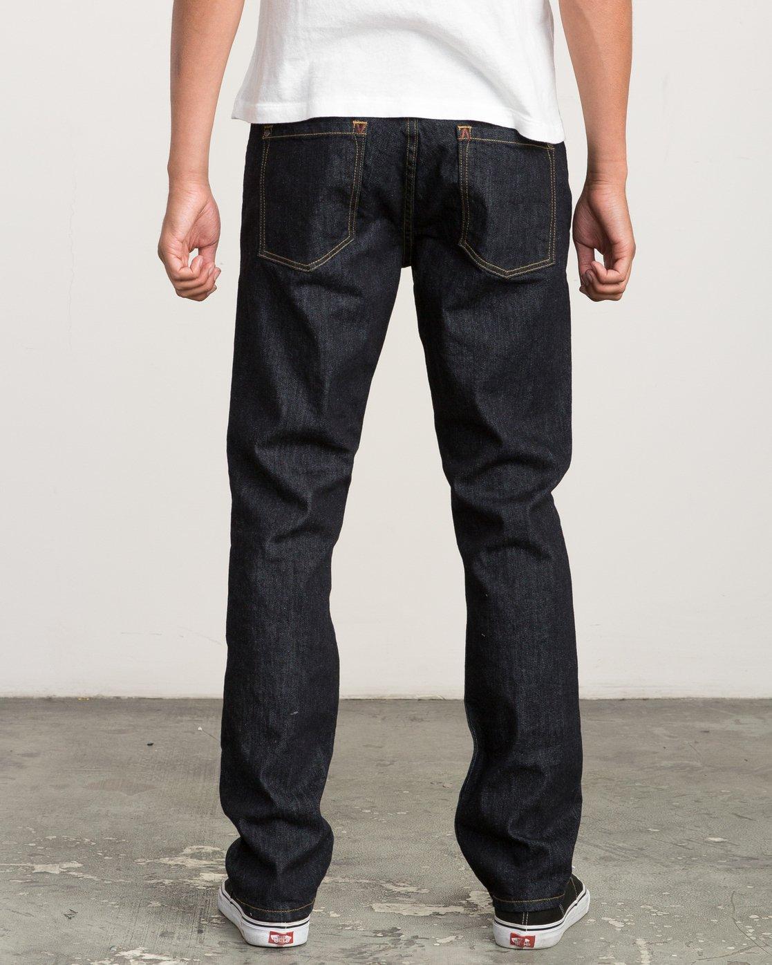 3 Daggers Slim-Straight Jeans Blue M301QRDA RVCA