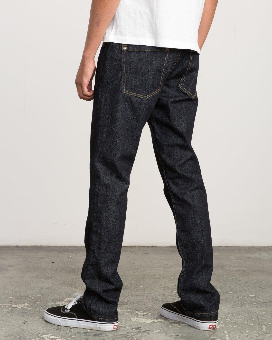 2 Daggers Slim-Straight Jeans Blue M301QRDA RVCA