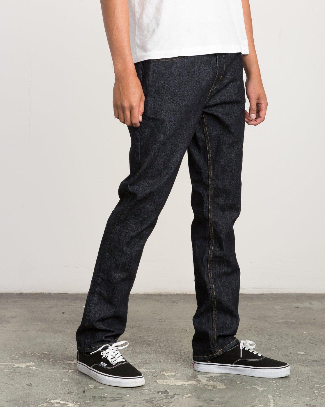 5 Daggers Slim-Straight Jeans Blue M301QRDA RVCA