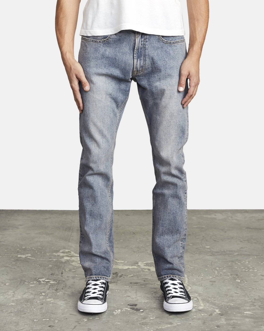 1 DAGGERS SLIM FIT DENIM Blue M3023RDA RVCA