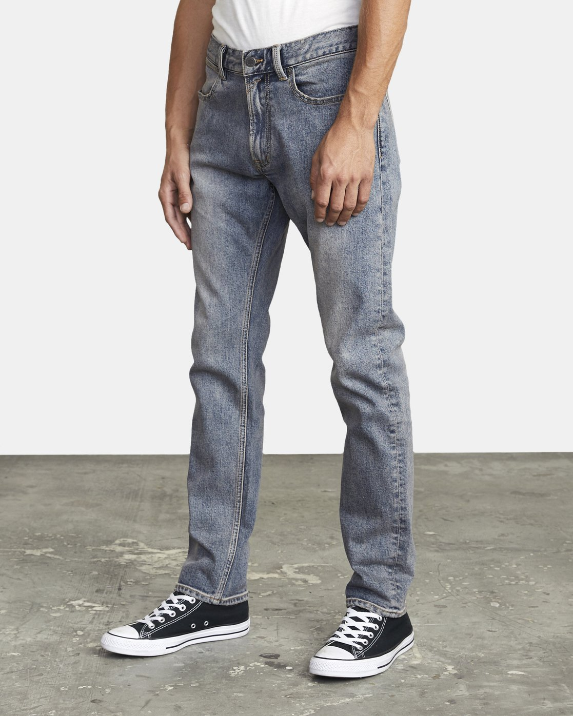 2 DAGGERS SLIM FIT DENIM Blue M3023RDA RVCA