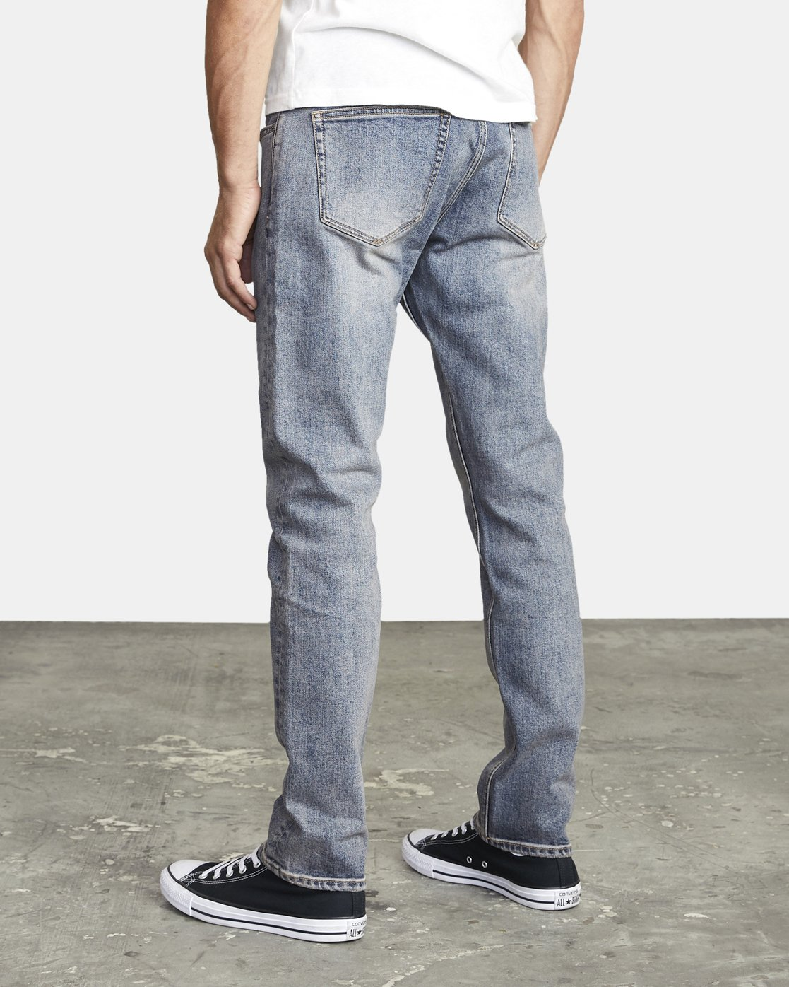 3 DAGGERS SLIM FIT DENIM Blue M3023RDA RVCA