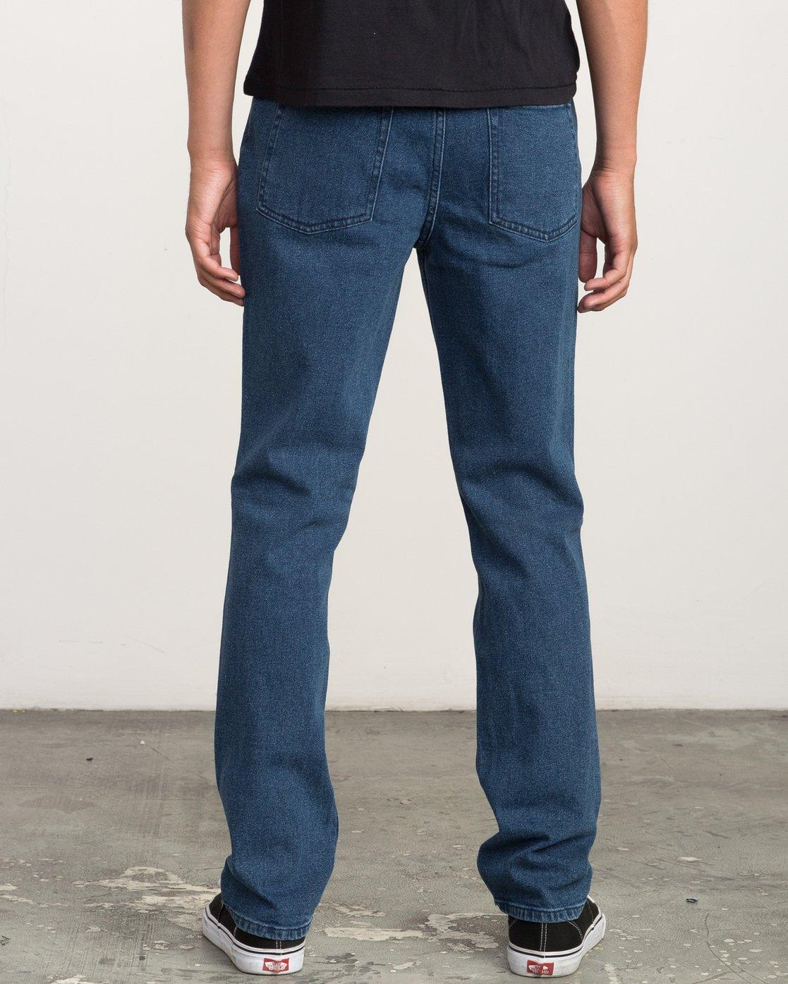 3 Daggers Slim-Straight Jeans Blue M302QRDA RVCA