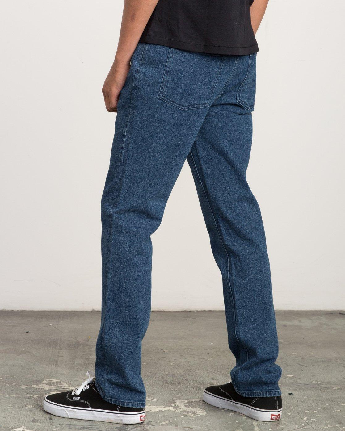 2 Daggers Slim-Straight Jeans Blue M302QRDA RVCA