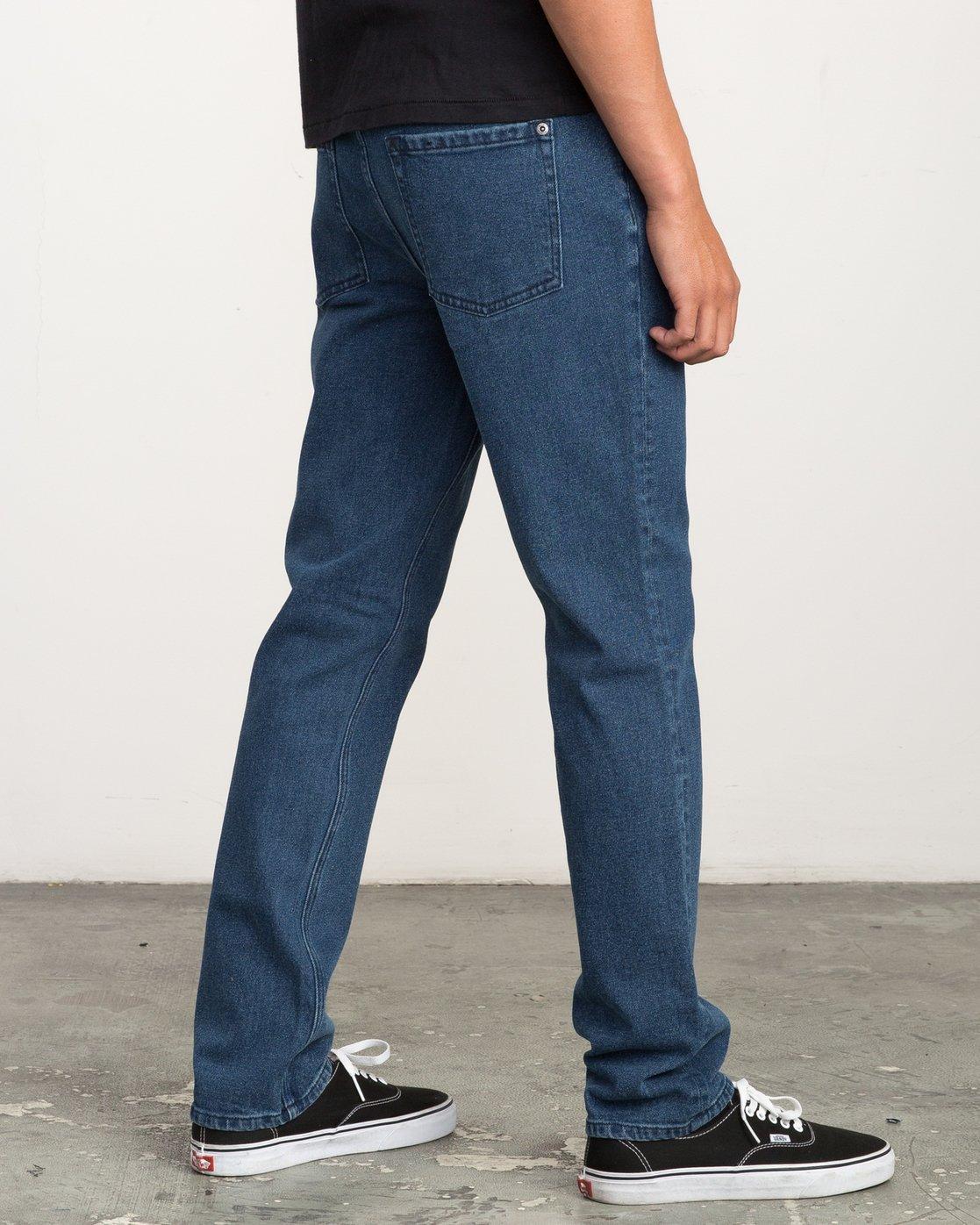 4 Daggers Slim-Straight Jeans Blue M302QRDA RVCA