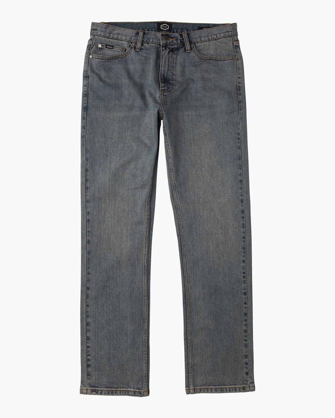 6 Daggers Slim-Straight Jeans Blue M303QRDA RVCA