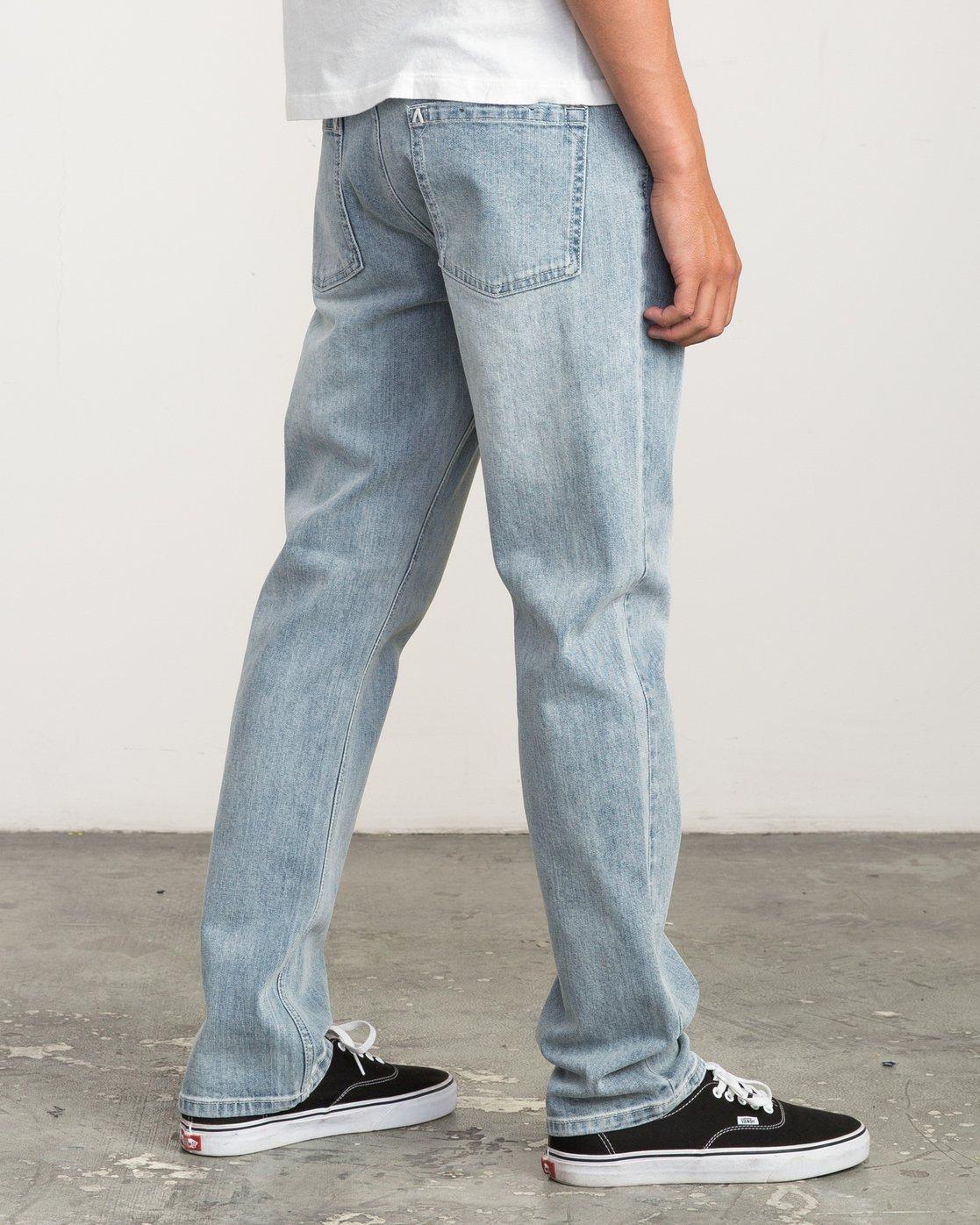 4 Daggers Slim-Straight Jeans Beige M303QRDA RVCA