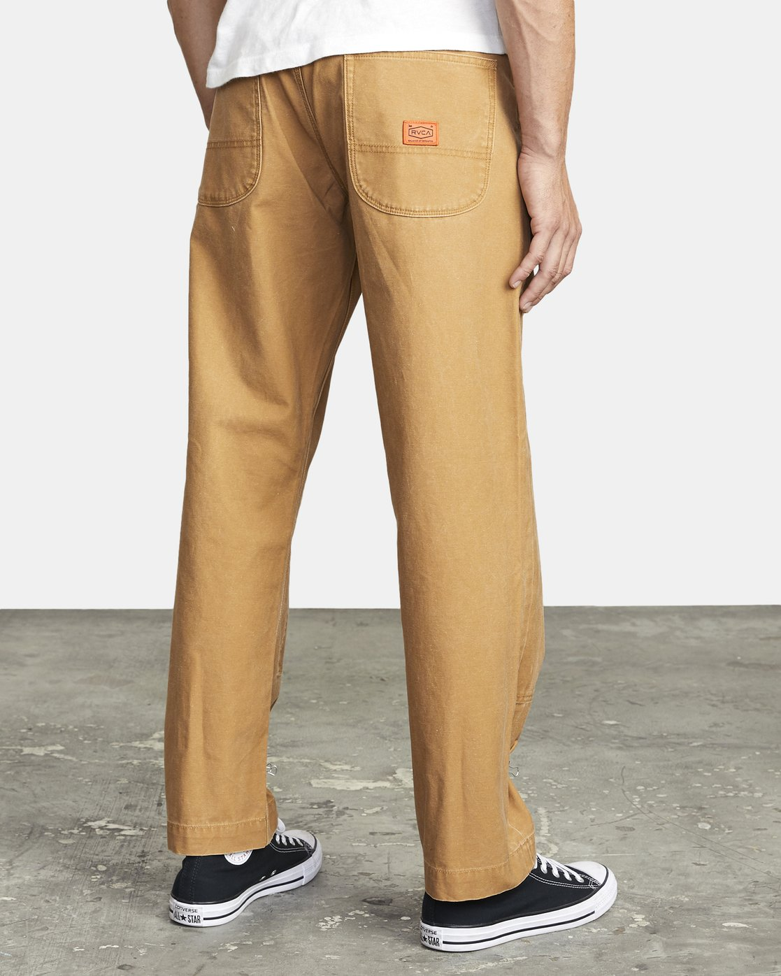 6 CHAINMAIL RELAXED FIT PANT Brown M3043RCH RVCA