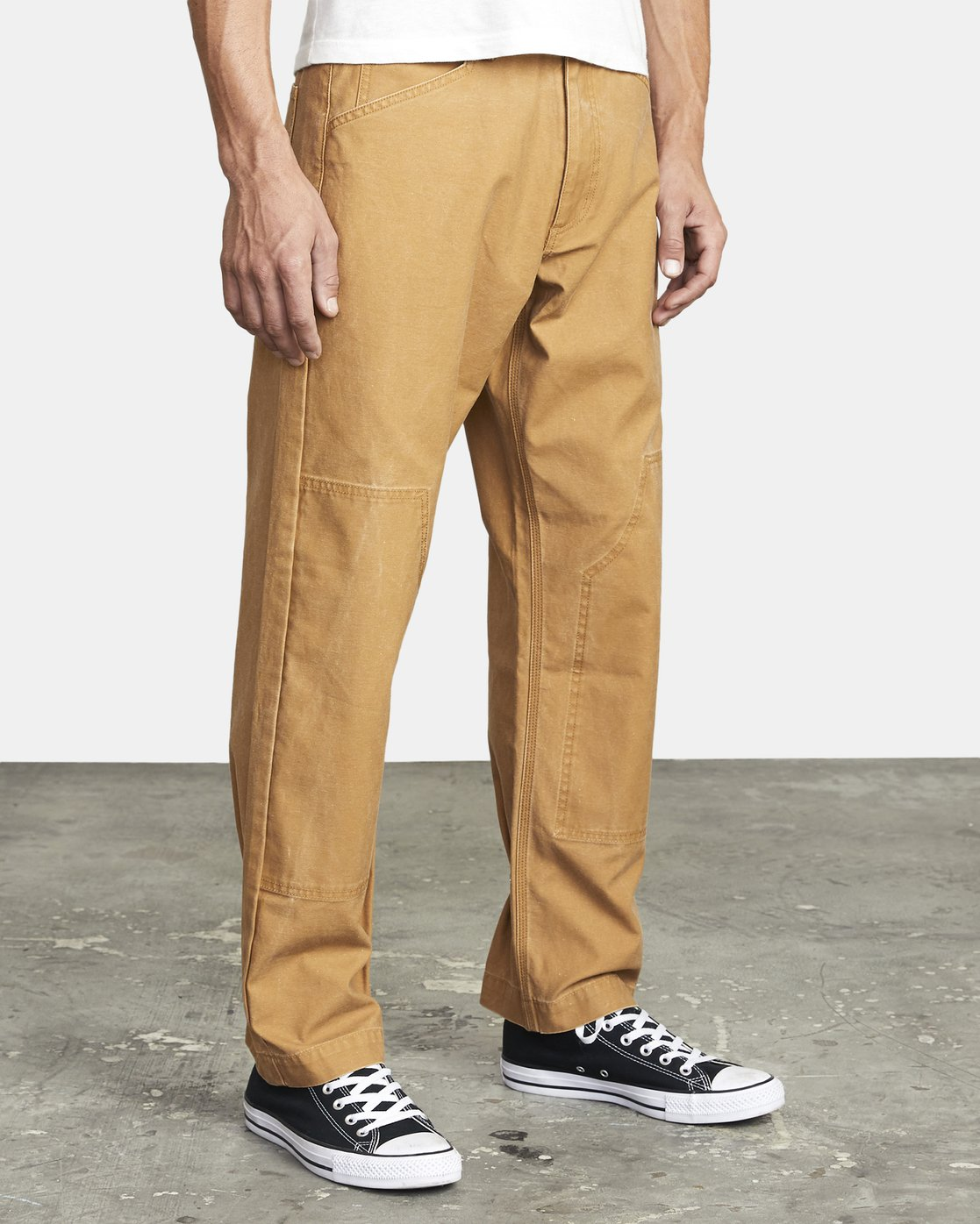 7 CHAINMAIL RELAXED FIT PANT Brown M3043RCH RVCA