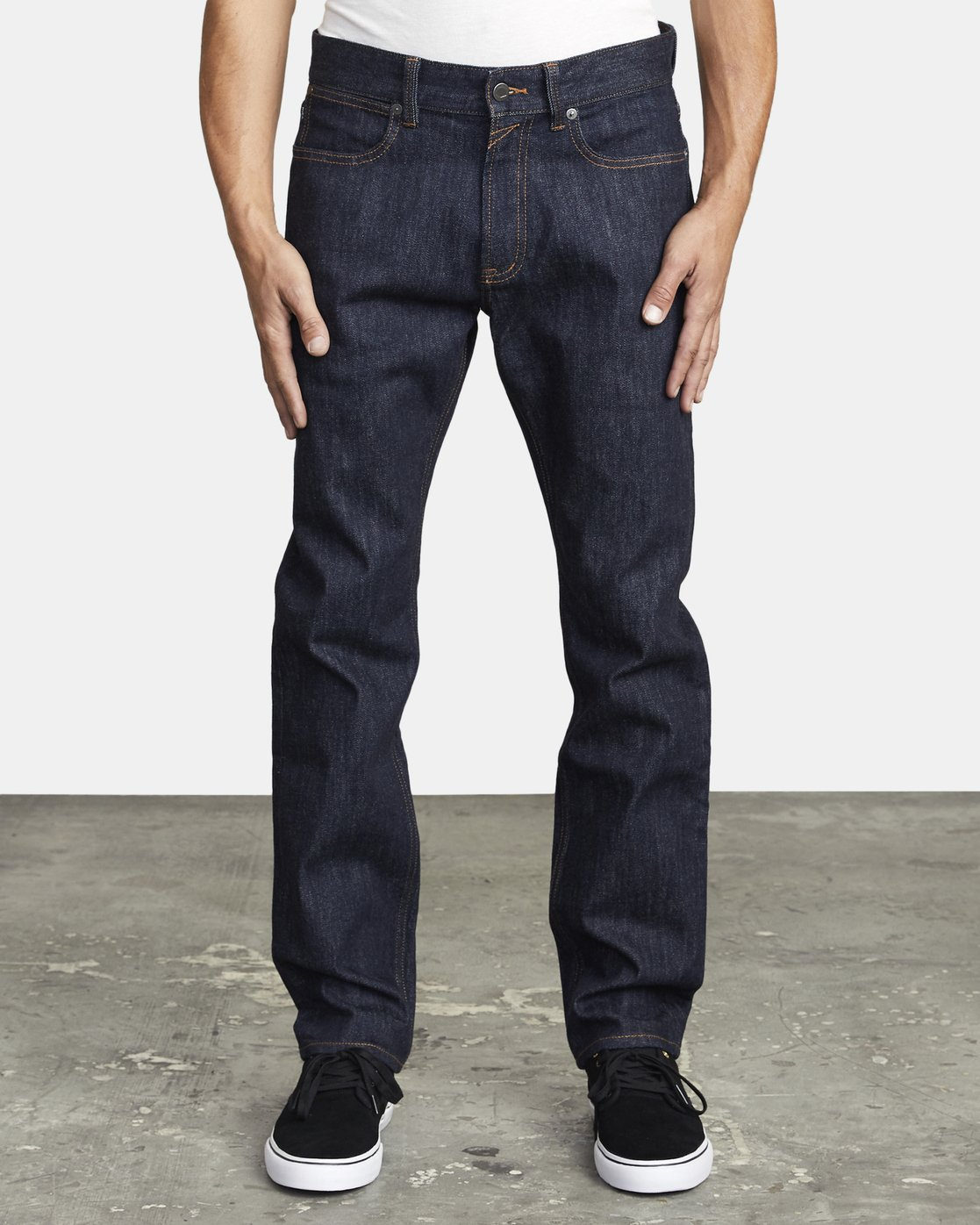 0 WEEKEND STRAIGHT FIT DENIM Blue M3043RWK RVCA