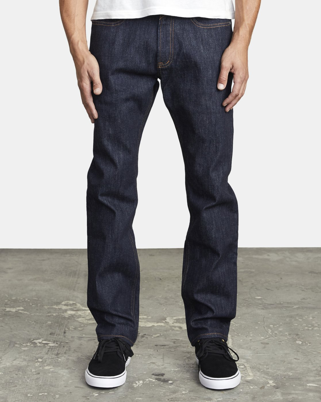 1 WEEKEND STRAIGHT FIT DENIM Blue M3043RWK RVCA
