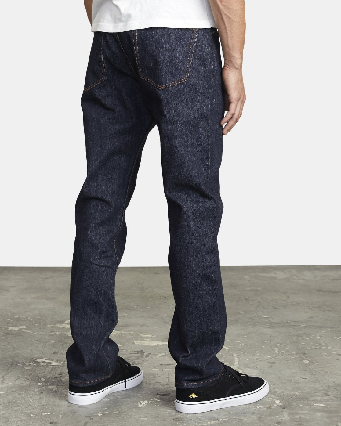 5 WEEKEND STRAIGHT FIT DENIM Blue M3043RWK RVCA