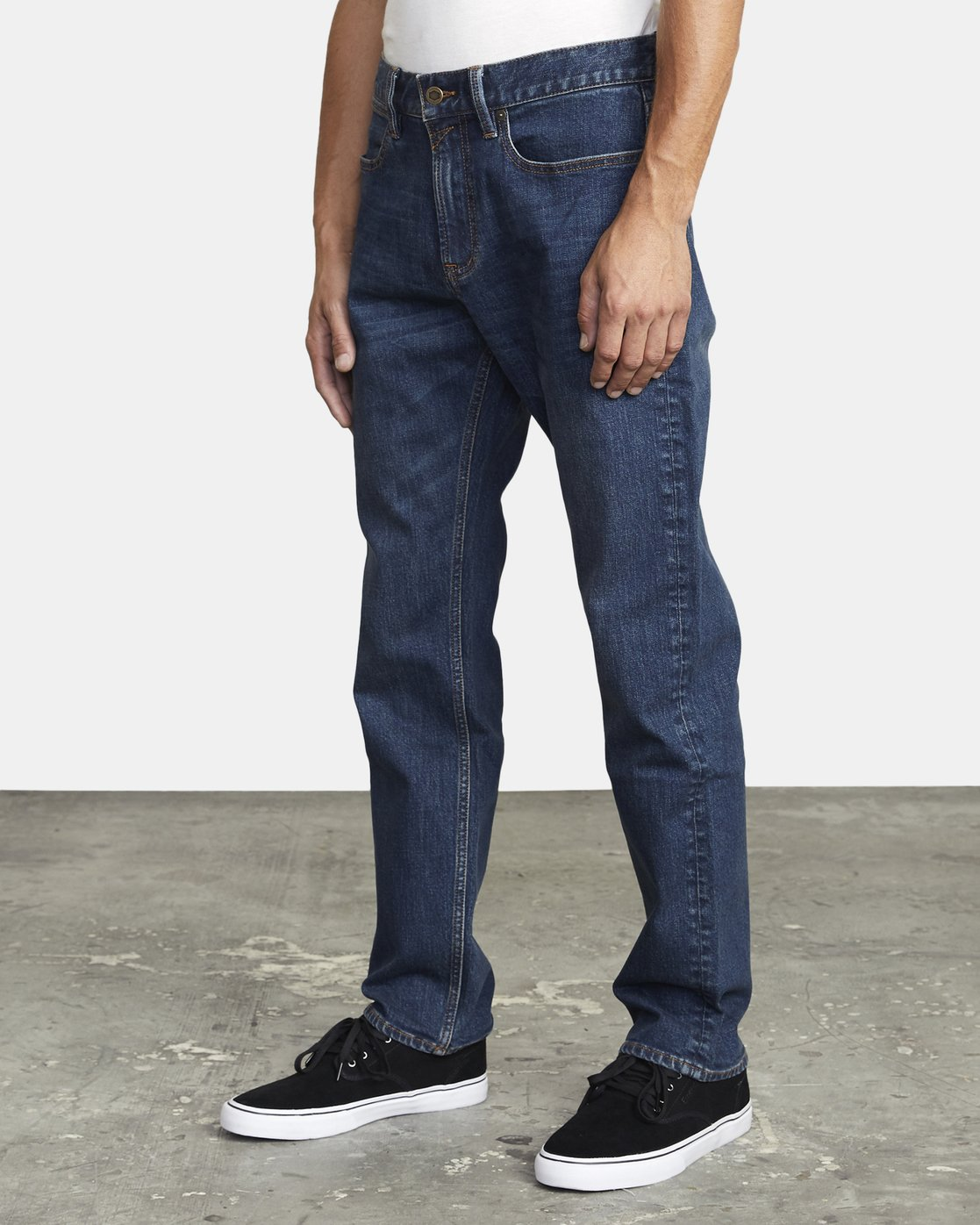 4 week-end STRAIGHT FIT DENIM Blue M3043RWK RVCA