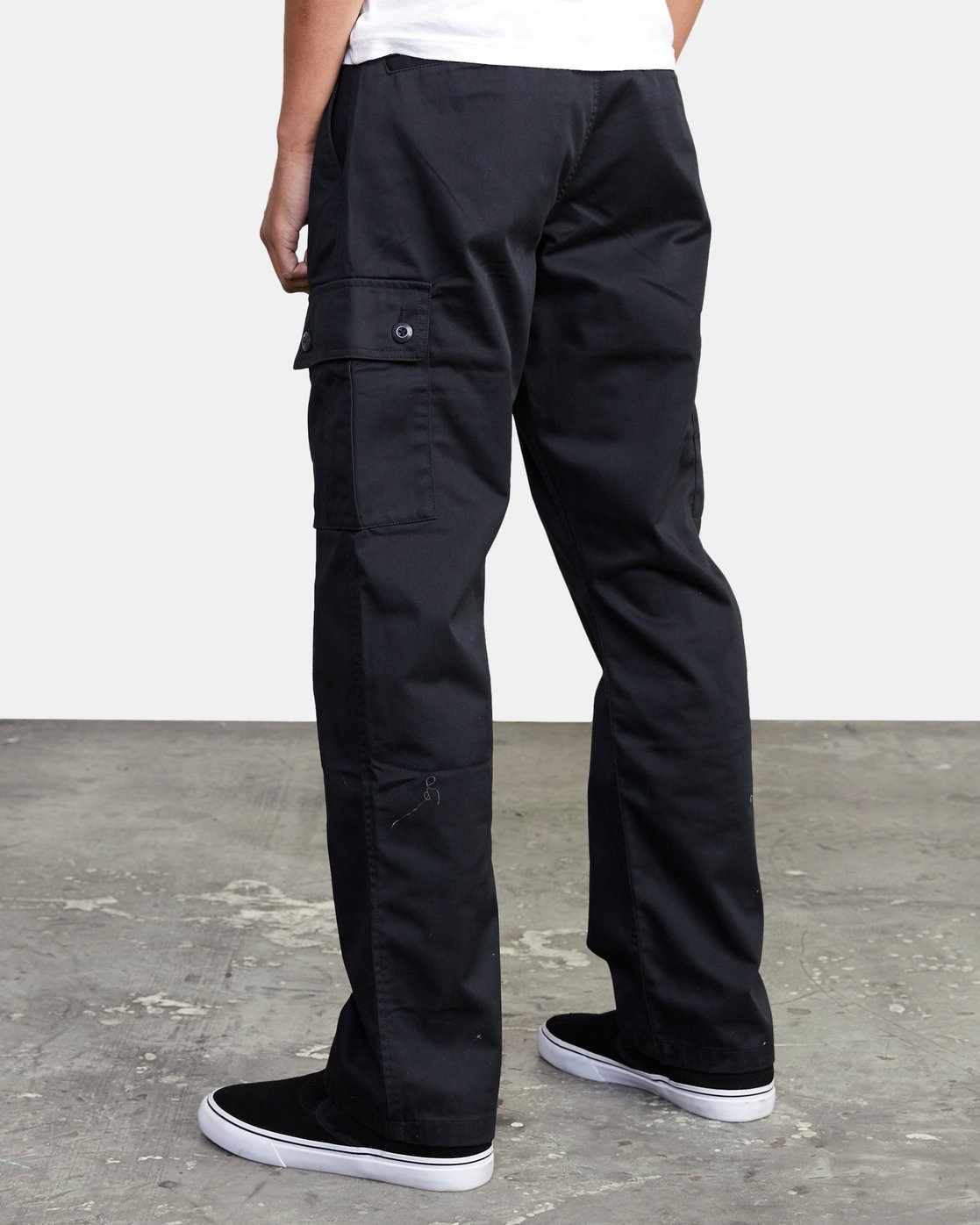 4 CONSCRIPTION RELAXED FIT CARGO PANT Orange M3053RCC RVCA