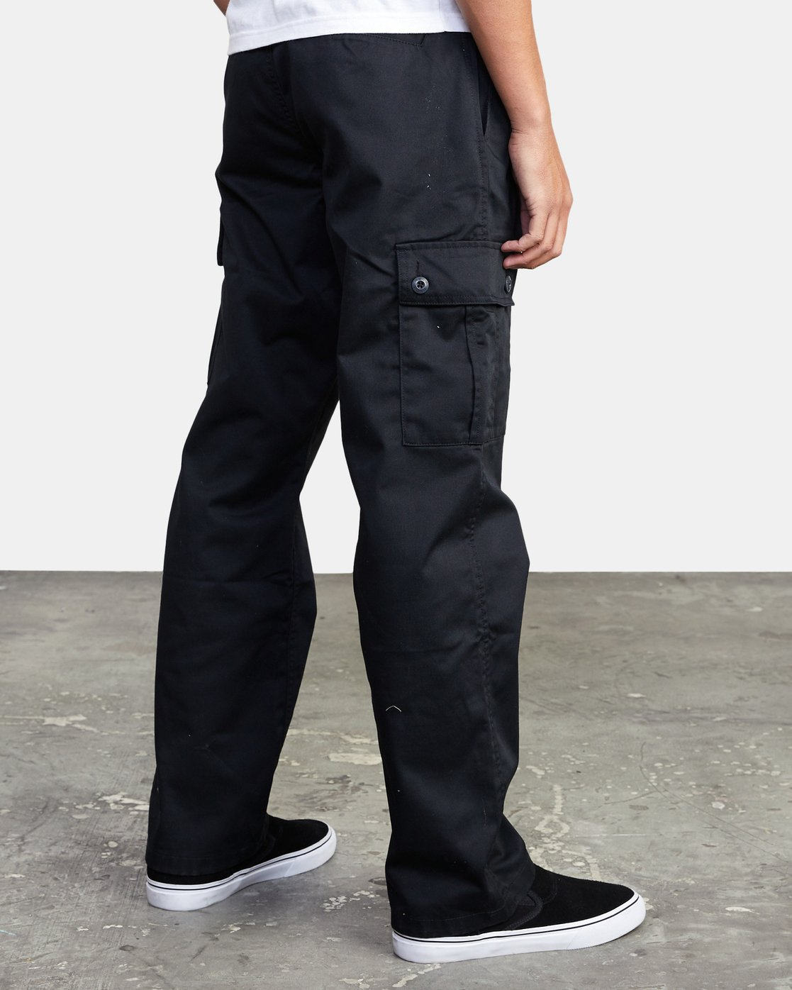 5 CONSCRIPTION RELAXED FIT CARGO PANT Orange M3053RCC RVCA