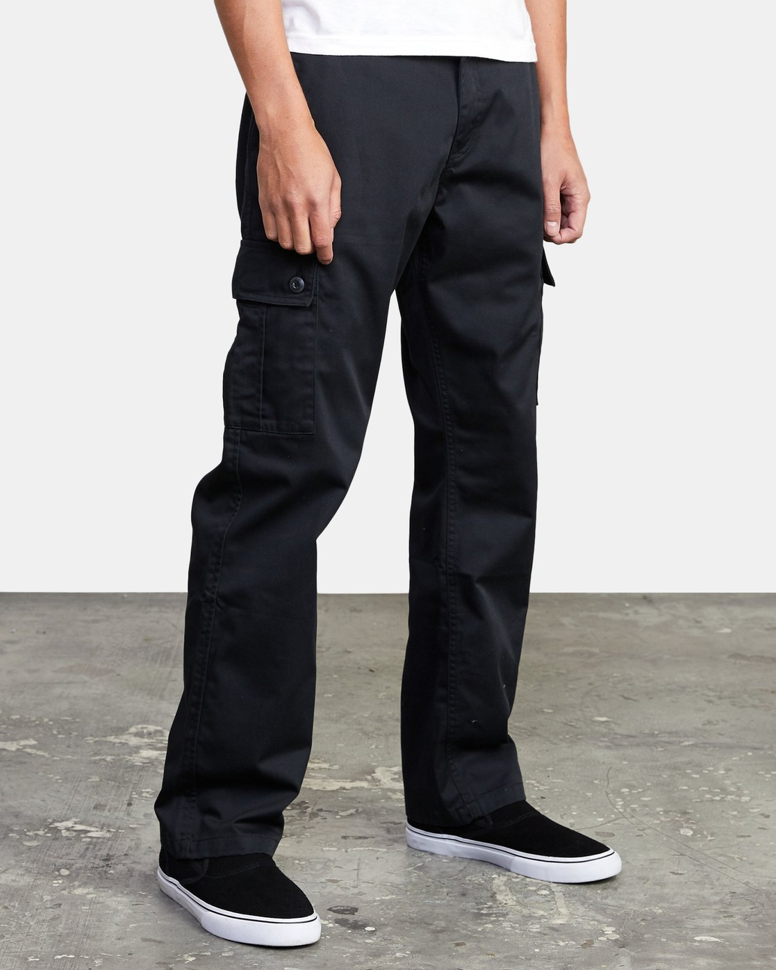 6 CONSCRIPTION RELAXED FIT CARGO PANT Orange M3053RCC RVCA