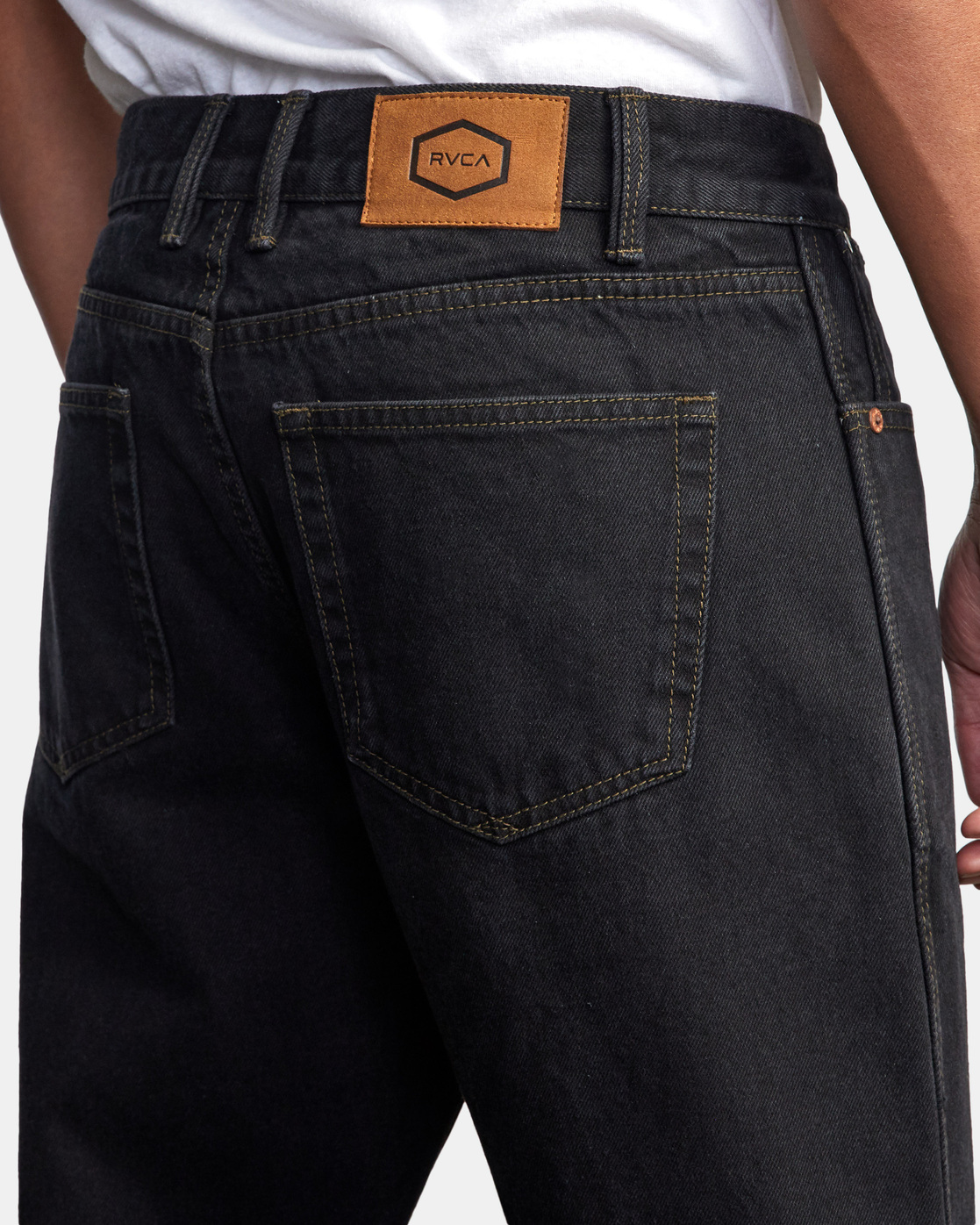 10 NEW DAWN MODERN STRAIGHT FIT DENIM Black M3053RND RVCA