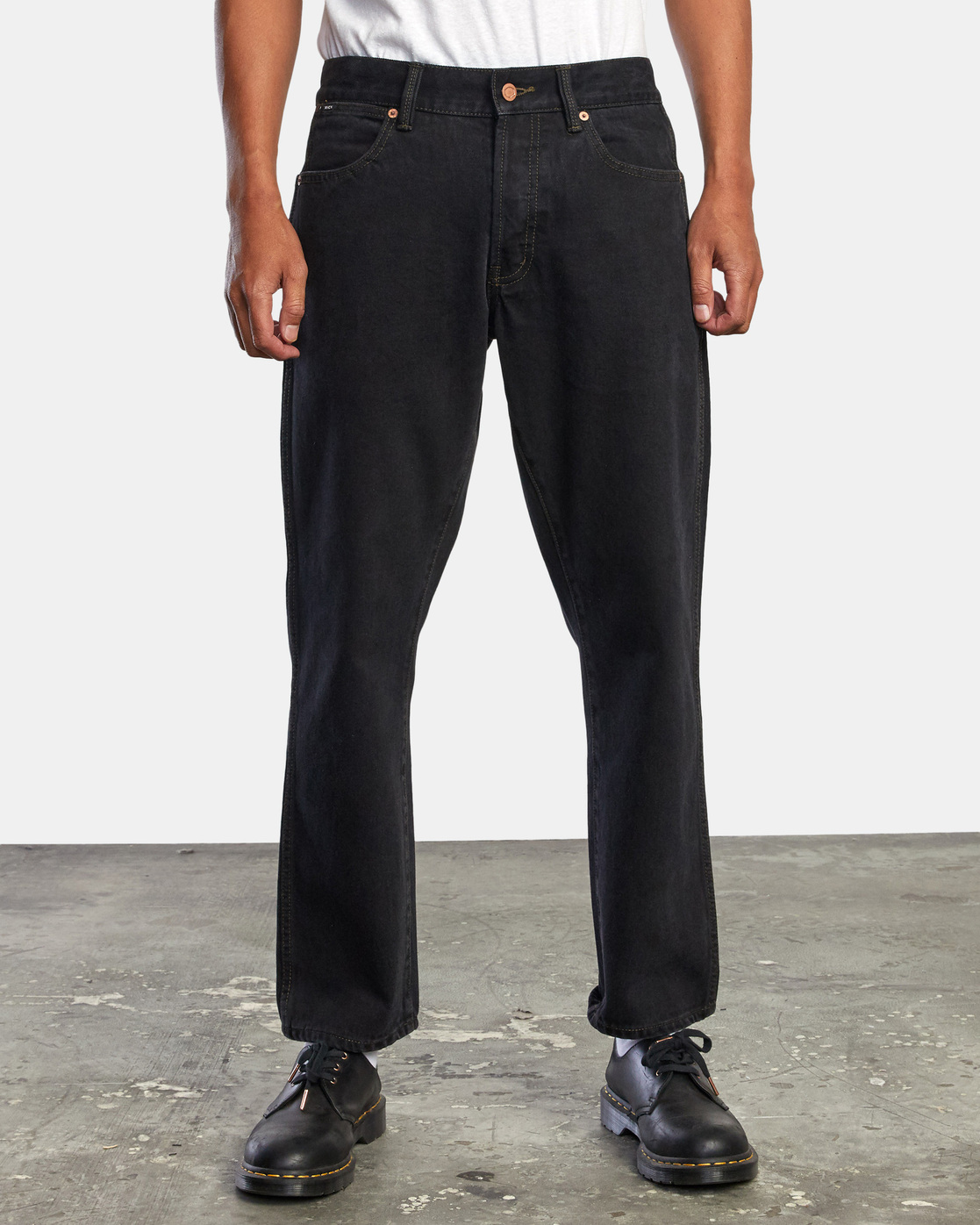8 NEW DAWN MODERN STRAIGHT FIT DENIM Black M3053RND RVCA