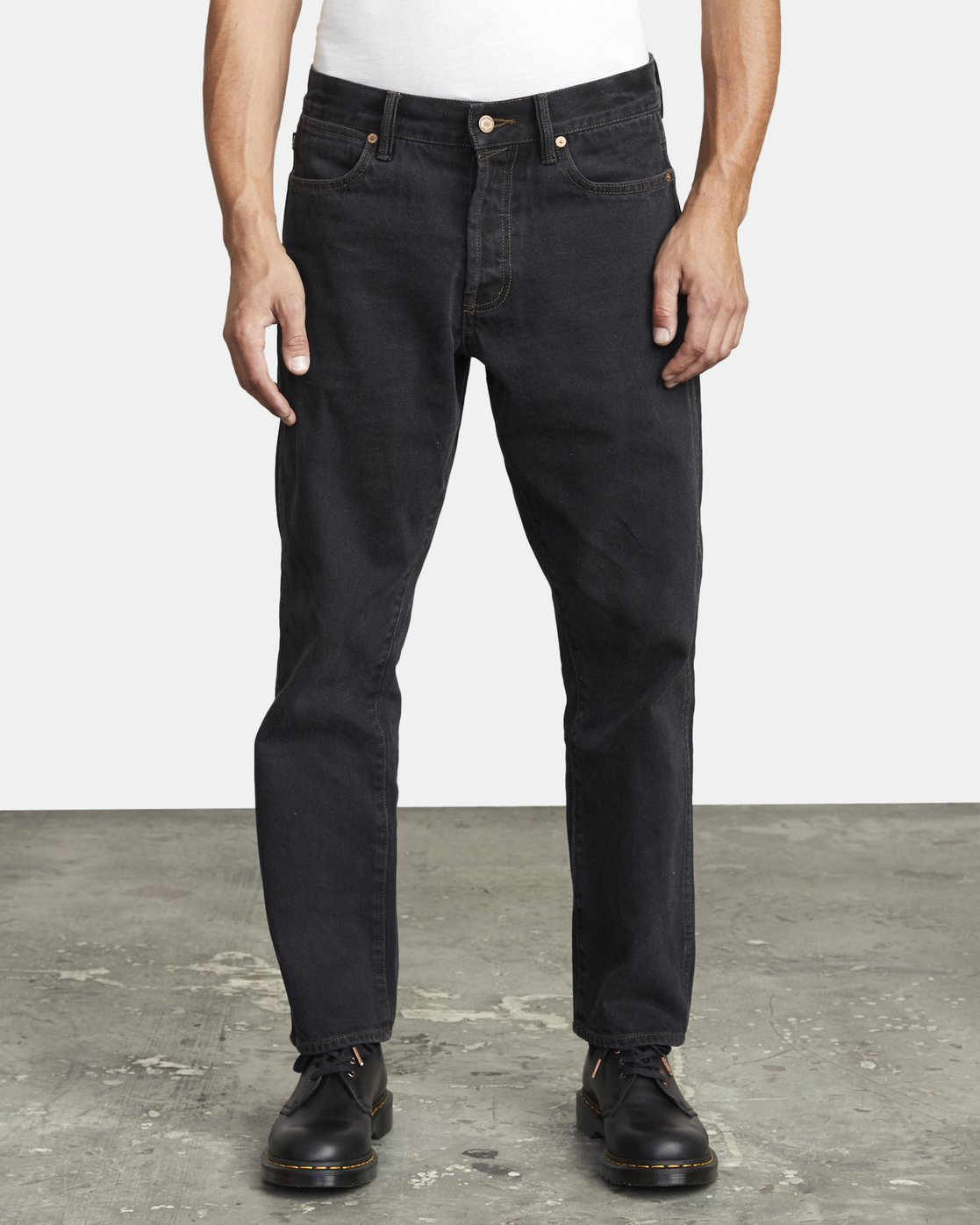 2 NEW DAWN MODERN STRAIGHT FIT DENIM Black M3053RND RVCA