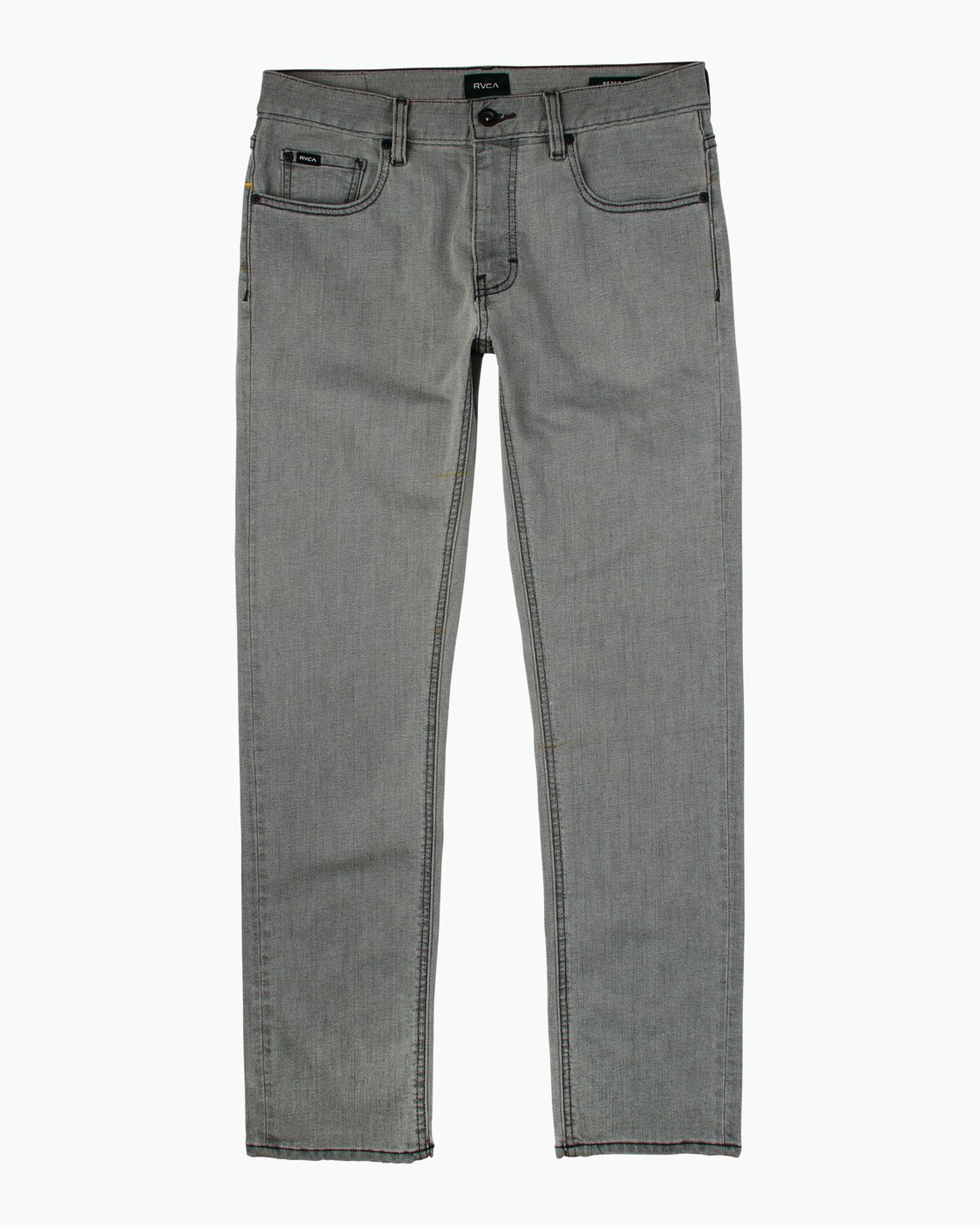 6 Hexed Slim Fit Denim Jeans Grey M305QRHD RVCA