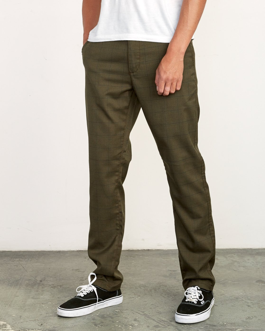 2 Daggers Slim-Straight Jax Pants Green M305VRDC RVCA