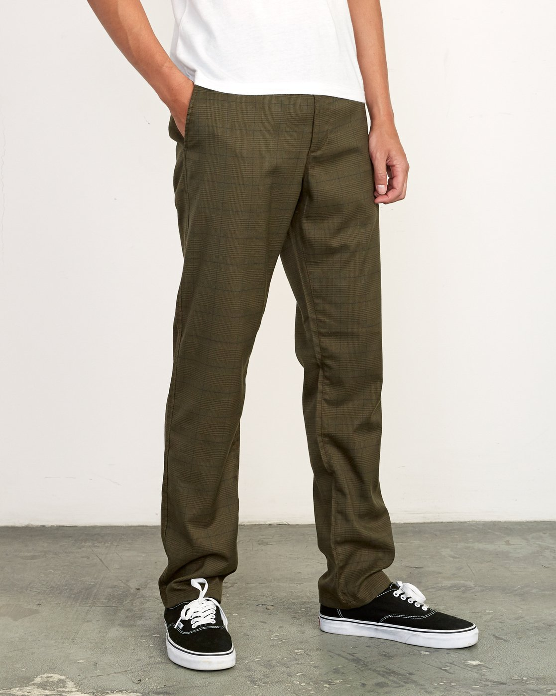 5 Daggers Slim-Straight Jax Pants Green M305VRDC RVCA