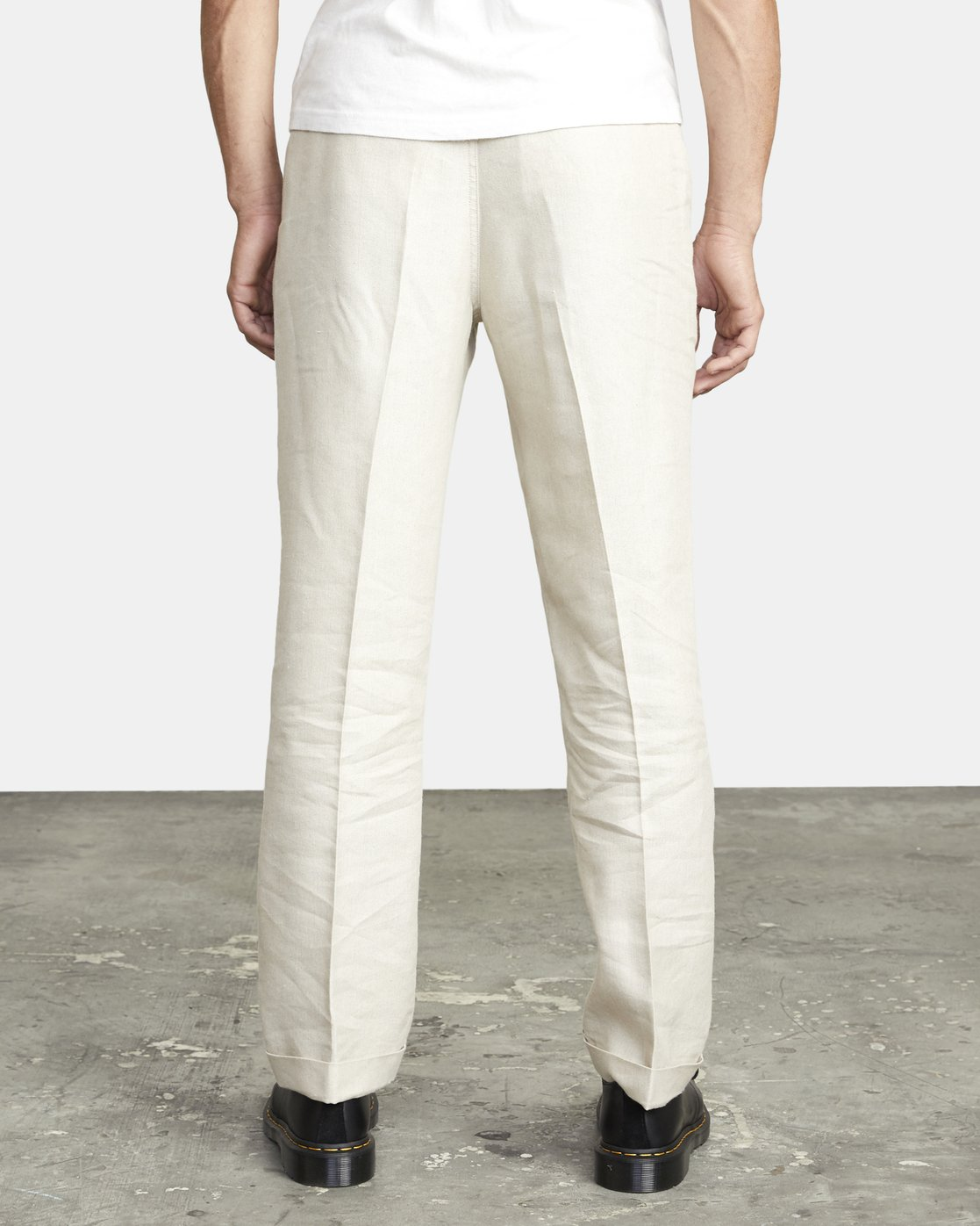 2 ALL TIME LOMAX MODERN STRAIGHT FIT PANT Silver M3063RLO RVCA