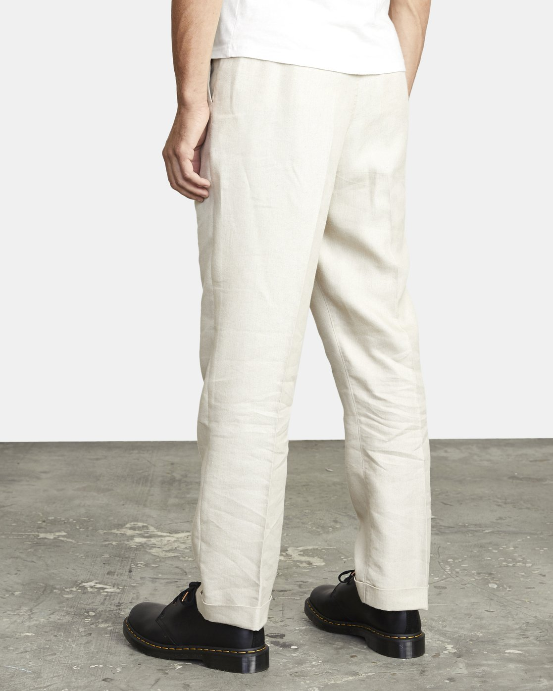 5 ALL TIME LOMAX MODERN STRAIGHT FIT PANT Silver M3063RLO RVCA
