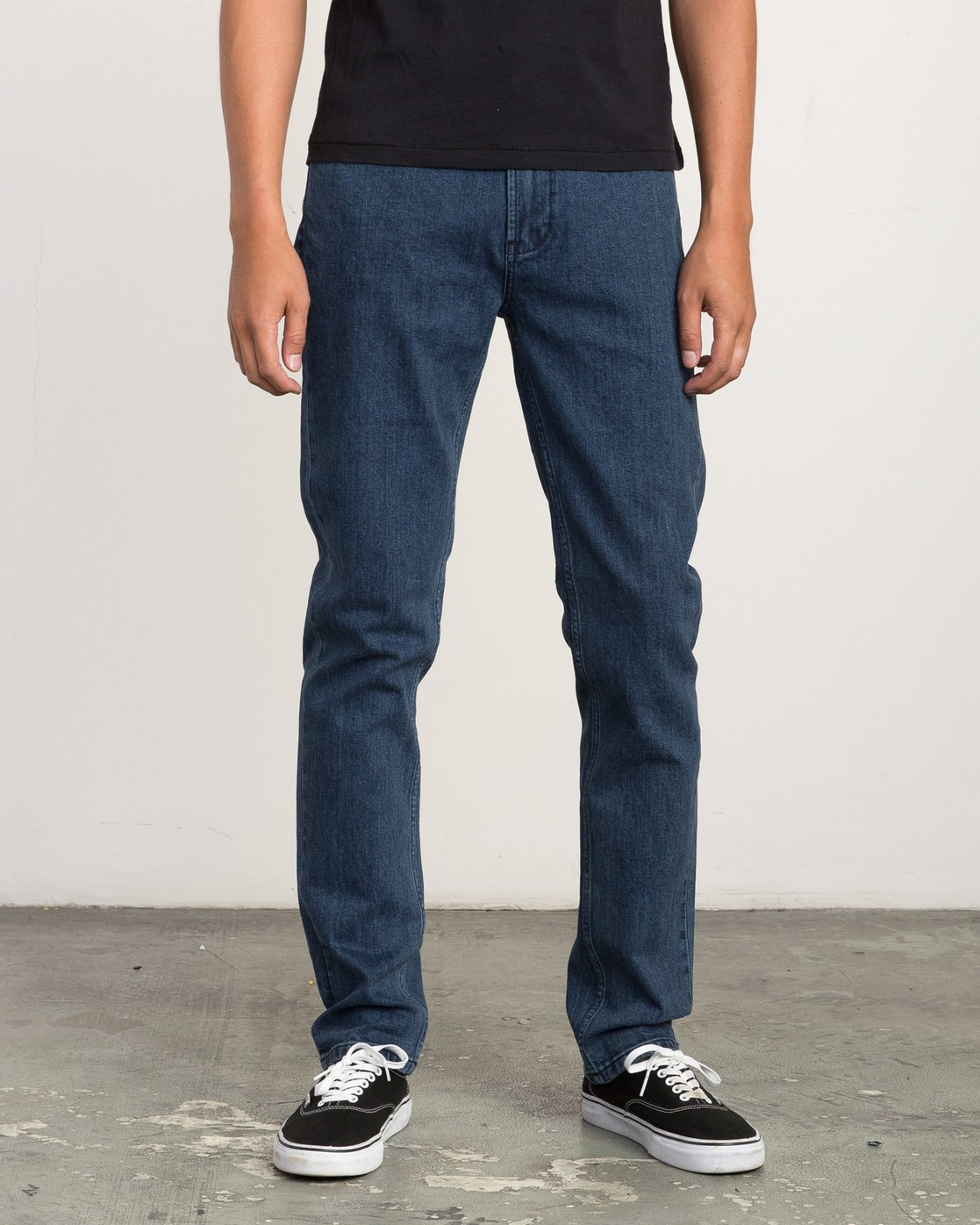 0 Hexed Slim Fit Denim Jeans  M306QRHD RVCA