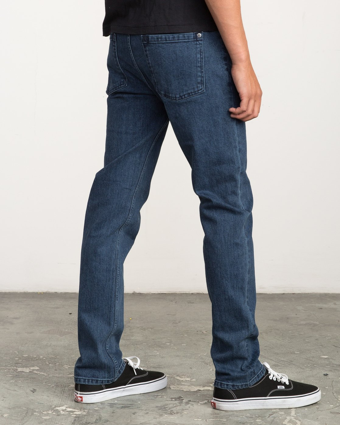 4 Hexed Slim Fit Denim Jeans Blue M306QRHD RVCA