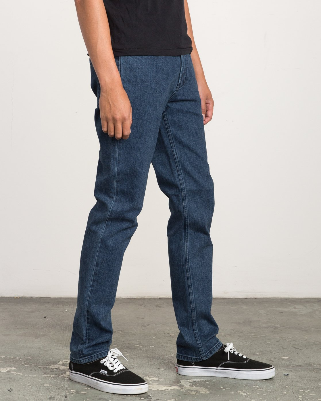 5 Hexed Slim Fit Denim Jeans  M306QRHD RVCA