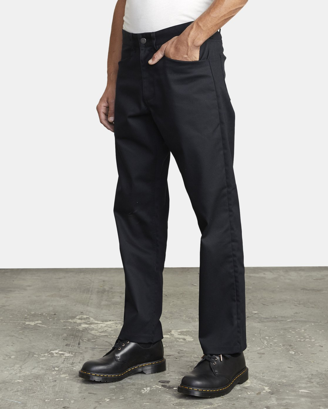 3 NEW DAWN PRESSED PANT Black M3073RPR RVCA