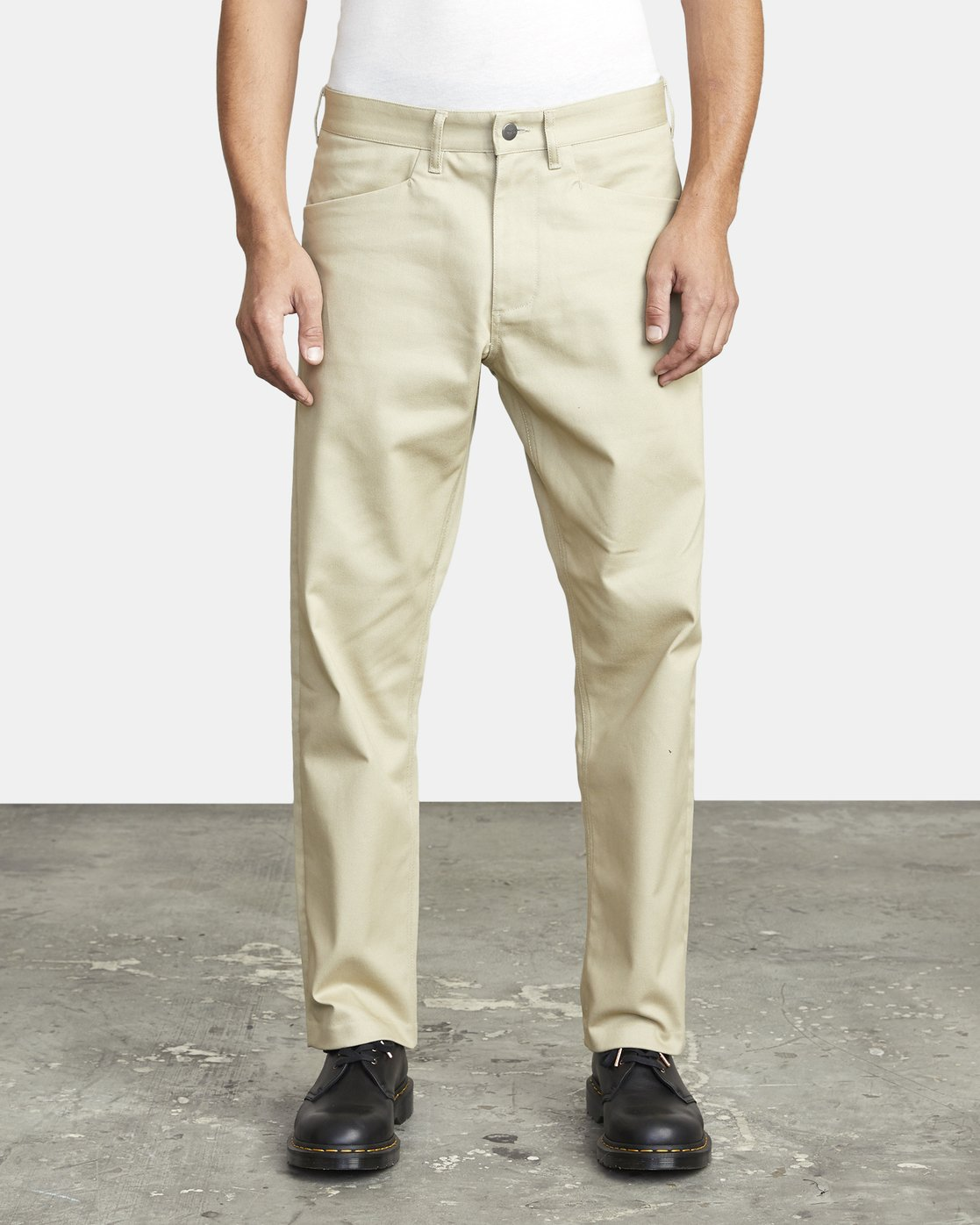 2 NEW DAWN MODERN STRAIGHT FIT PANT Beige M3073RPR RVCA