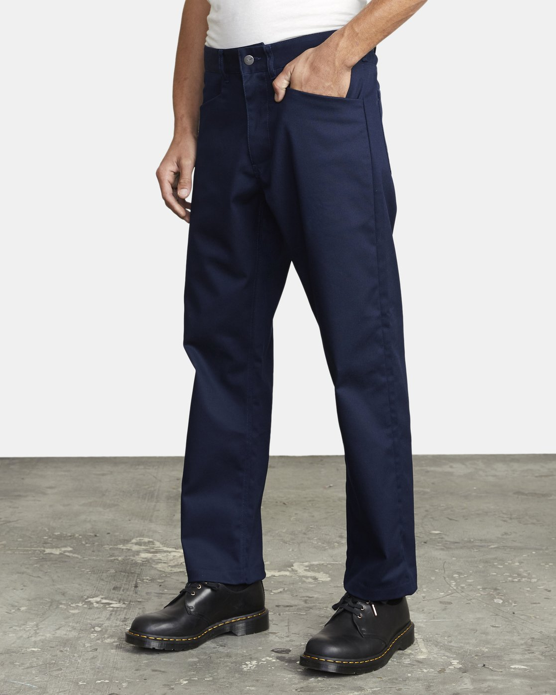 3 NEW DAWN PRESSED PANT Blue M3073RPR RVCA