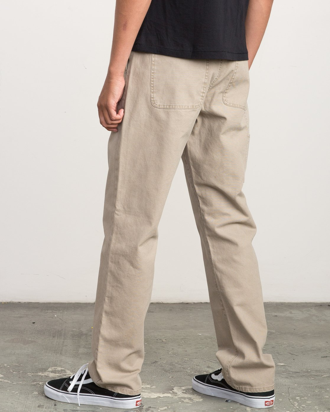 2 Andrew Reynolds Canvas Pant Green M307QRAR RVCA