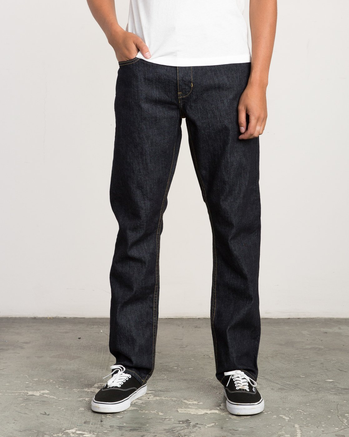 0 Stay RVCA Straight Fit Denim  M307QRSR RVCA