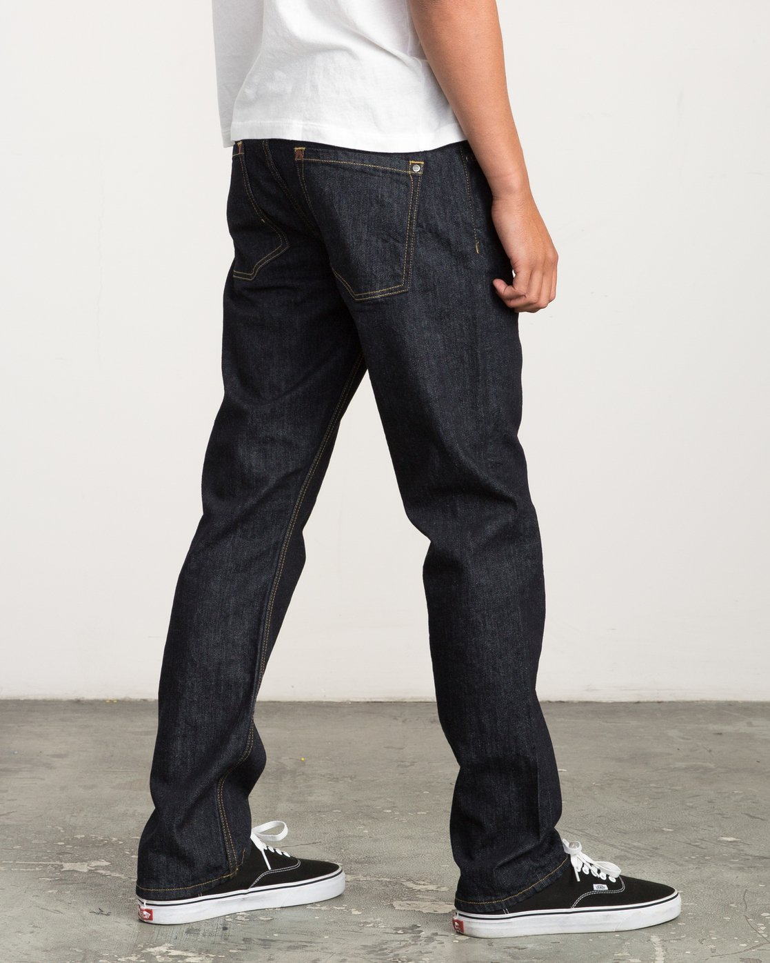 4 Stay RVCA Straight Fit Denim  M307QRSR RVCA